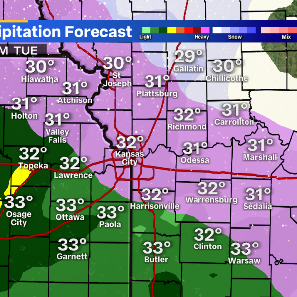 Winter Weather graphic for Dec. 29