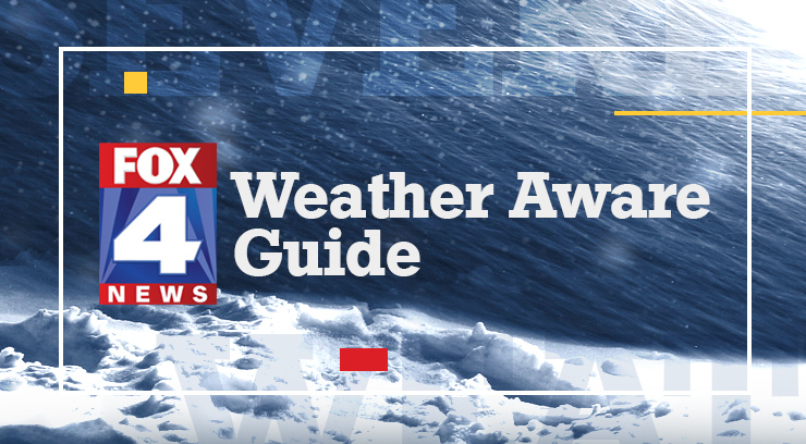 Graphic of winter Weather Aware Guide