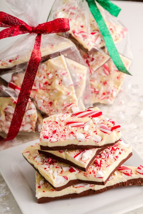 Picture of peppermint bark