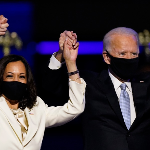 Picture of Harris and Biden