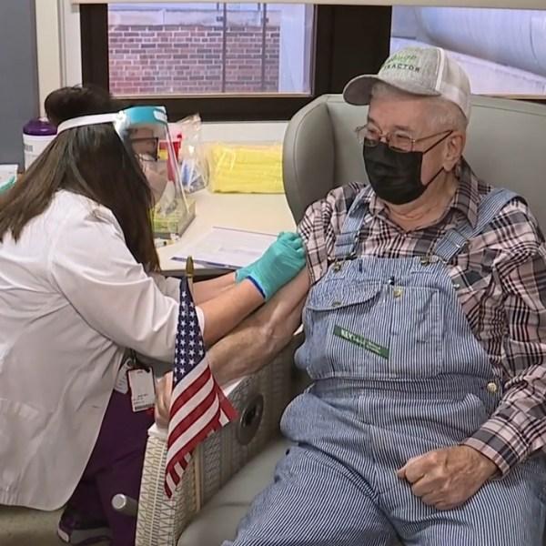 Kansas City VA vaccinations