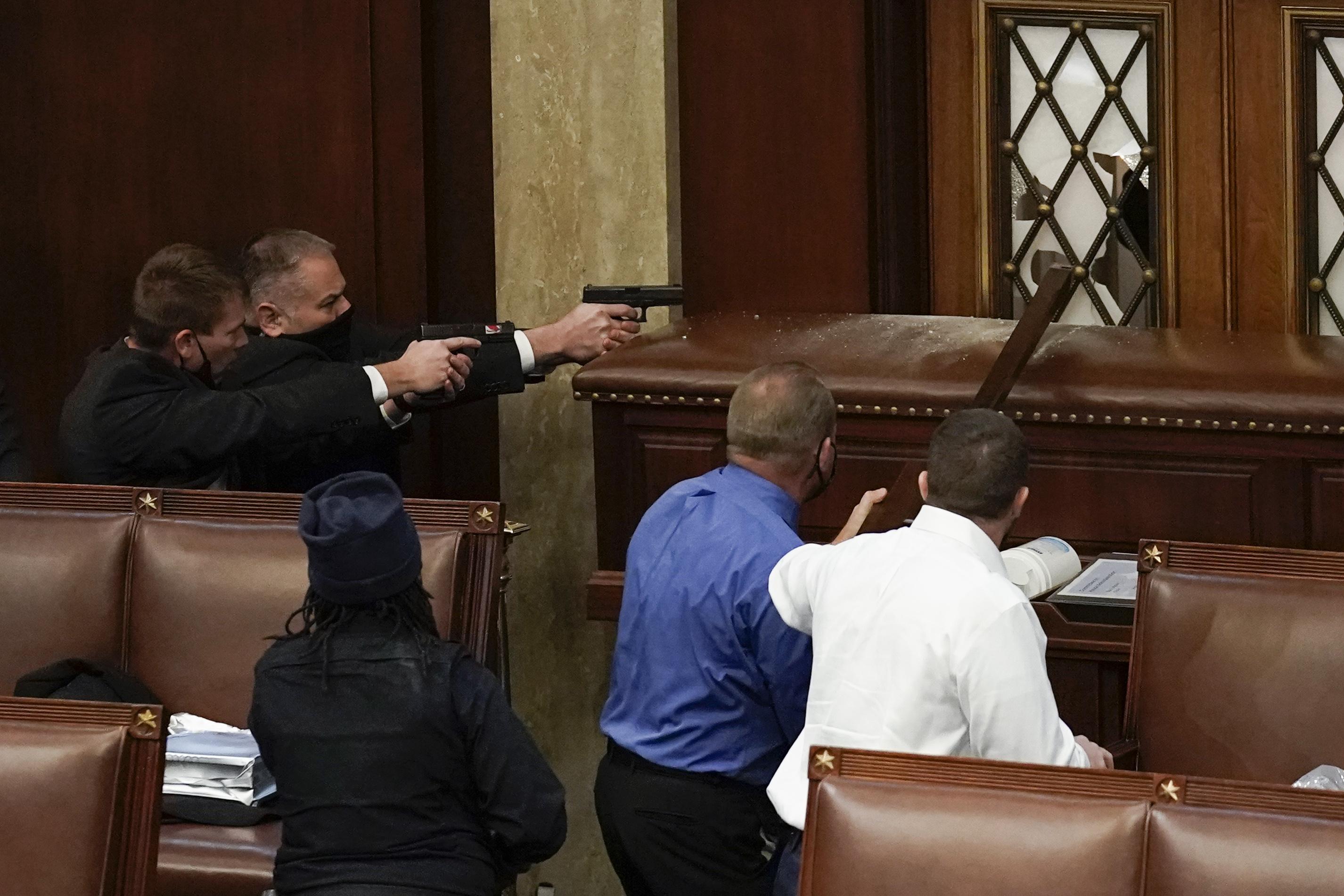 U.S. Capitol protest: A history of shootings, violent attacks at D.C. building