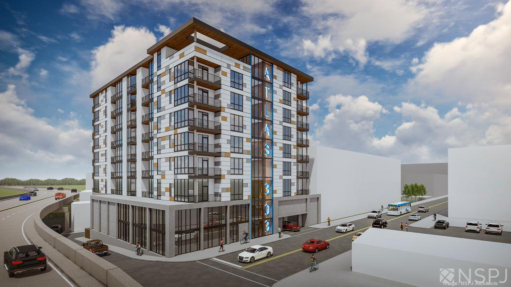 303 Broadway apartment rendering