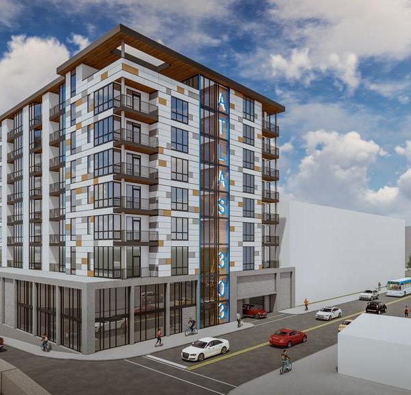 303 Broadway apartment rendering