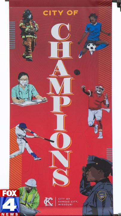 City of Champions Phone graphic