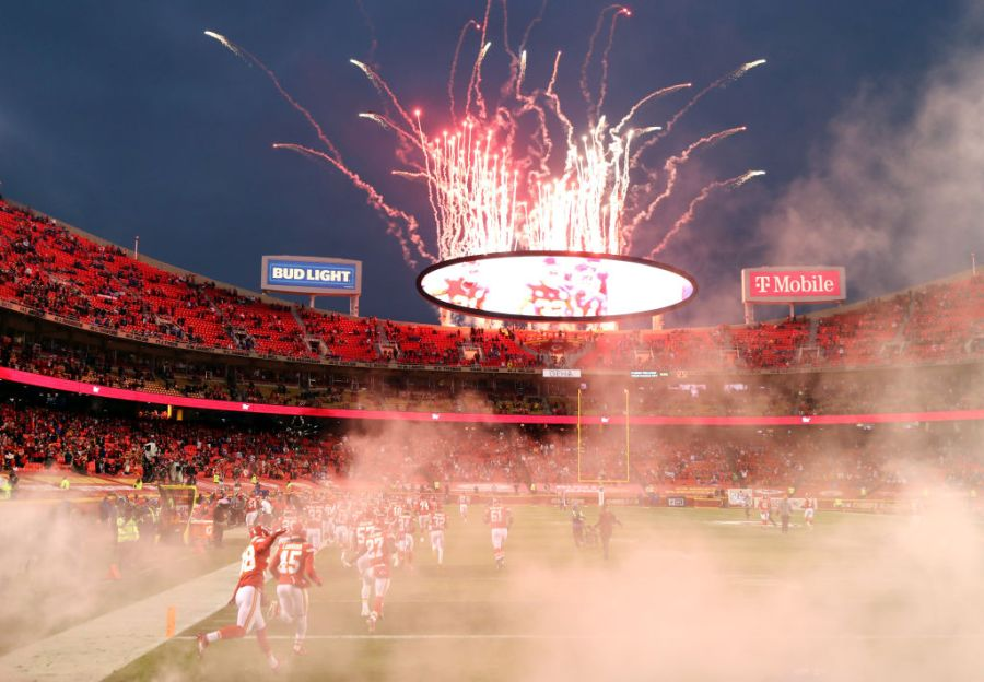 Picture of fireworks at Arrowhead