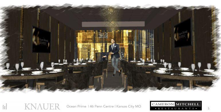 Rendering of Ocean Prime Restaurant