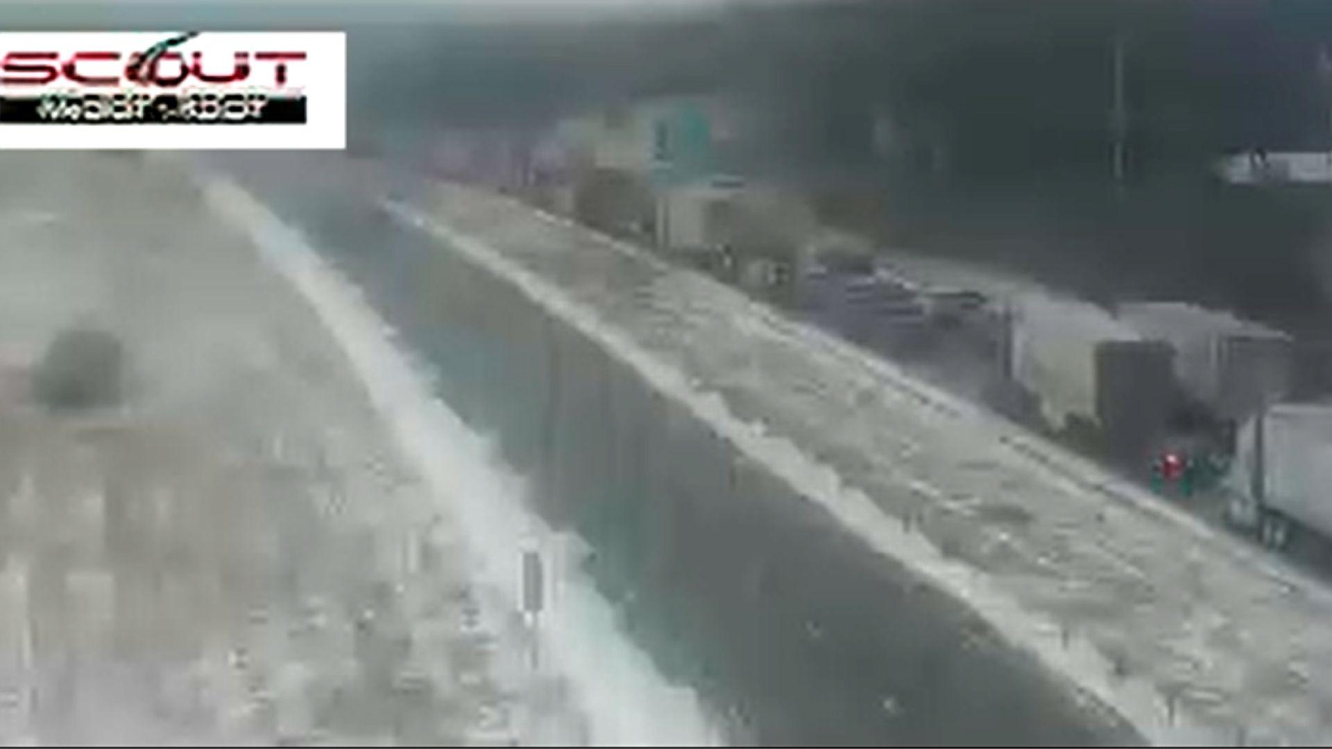 I-70 crash on Jan. 27, 2021