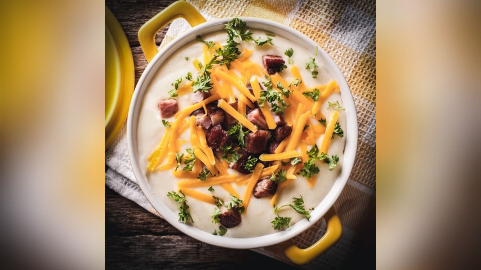 Picture of baked potato soup