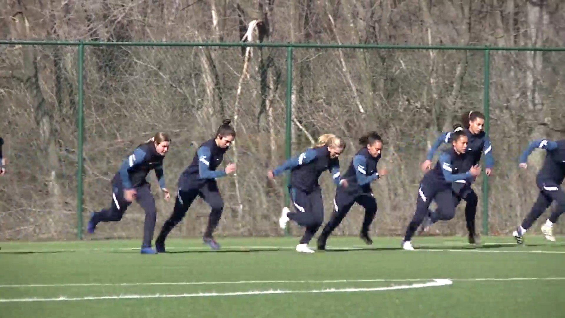 Picture of KC NWSL practicing