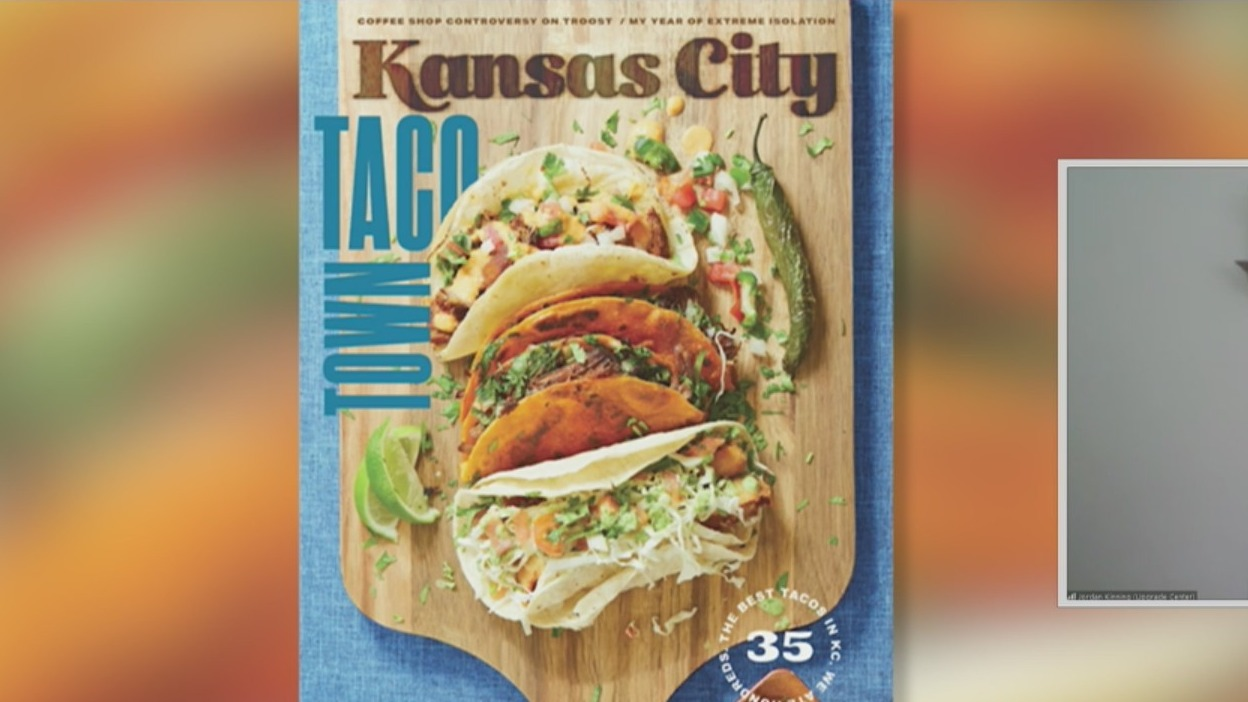 Picture of Taco Town Kansas City Magazine cover