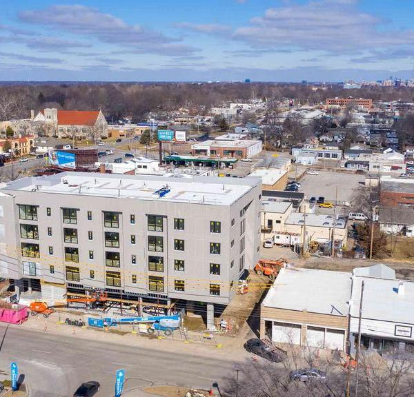 Picture of Waldo Flats under construction