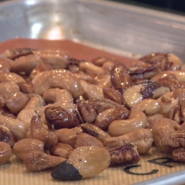 Picture of candied nuts