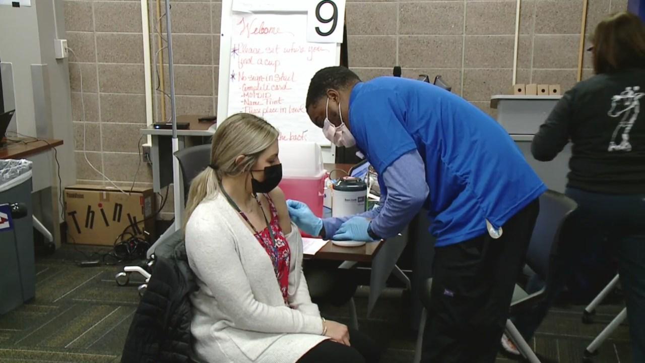 Kansas City hospitals begin vaccinating Missouri teachers FOX 4 Kansas City WDAF-TV