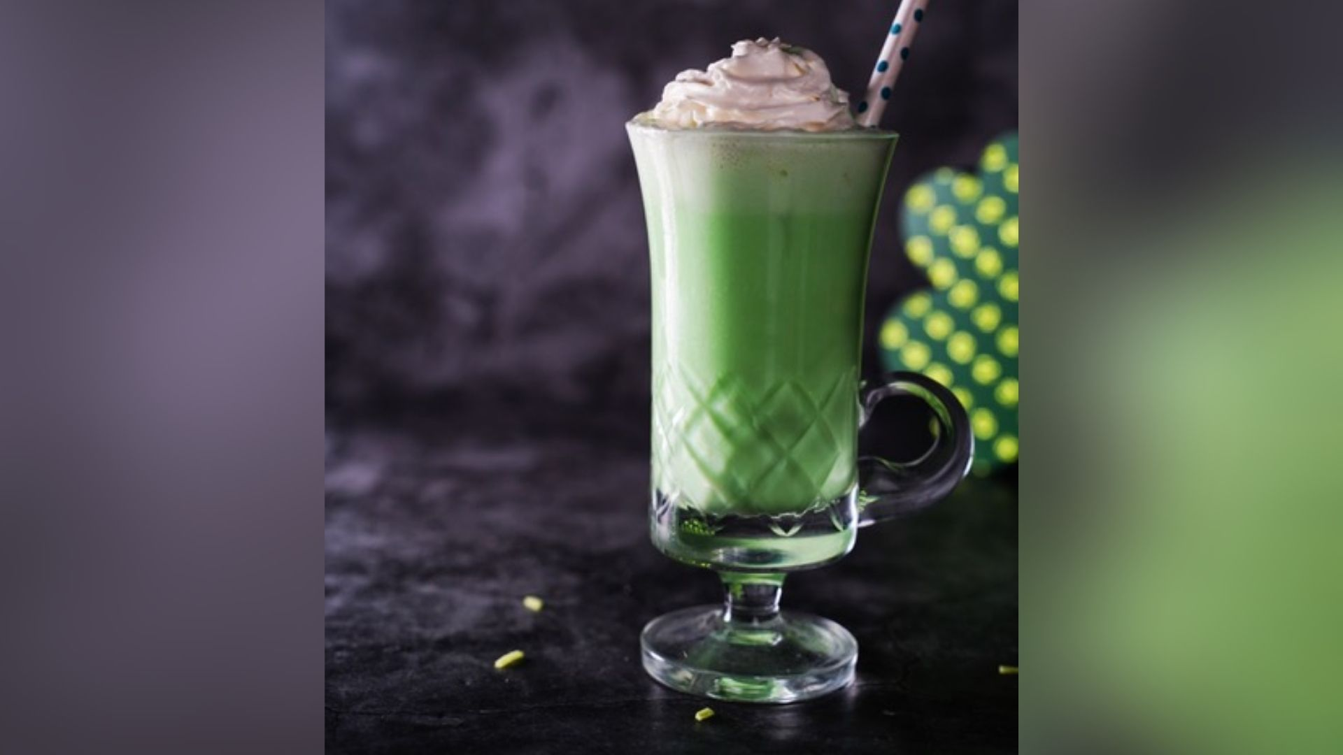 Mocha mint shamrock shake picture courtesy of Lauren Lane.