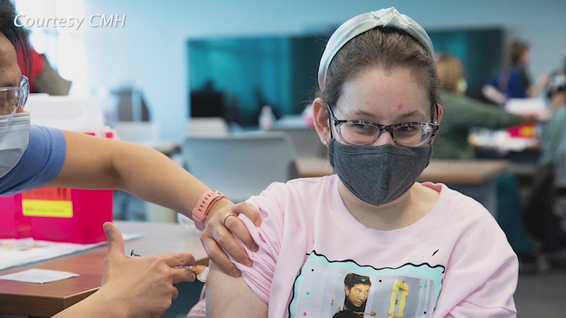 Children's Mercy teen COVID-19 vaccinations
