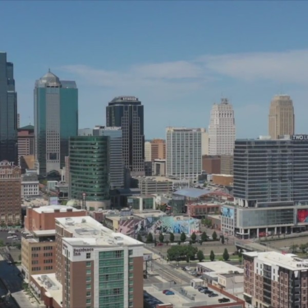 Picture of kansas city skyline