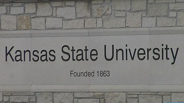 kstate - Kansas State University sign