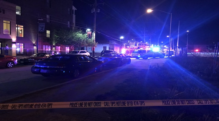 Picture of 18th and Vine Shooting scene