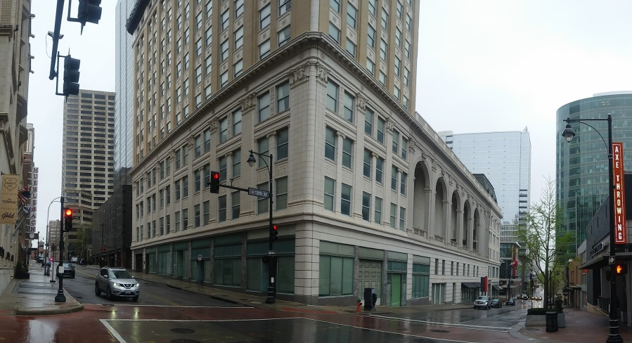 Picture of the Midland building from 13th and Baltimore