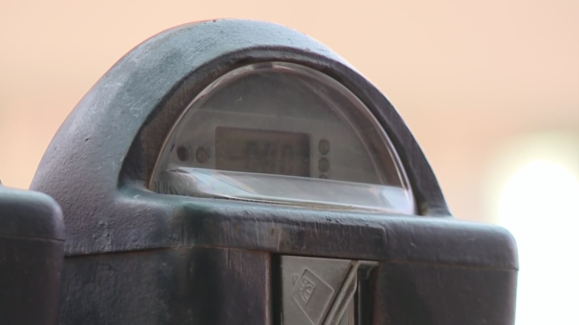 Picture of parking meter