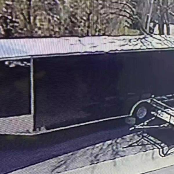 Picture of stolen cheer trailer