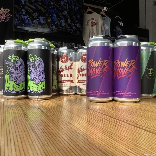 double shift brewing beer