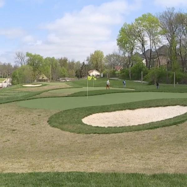 Harris Park golf course in Kansas City