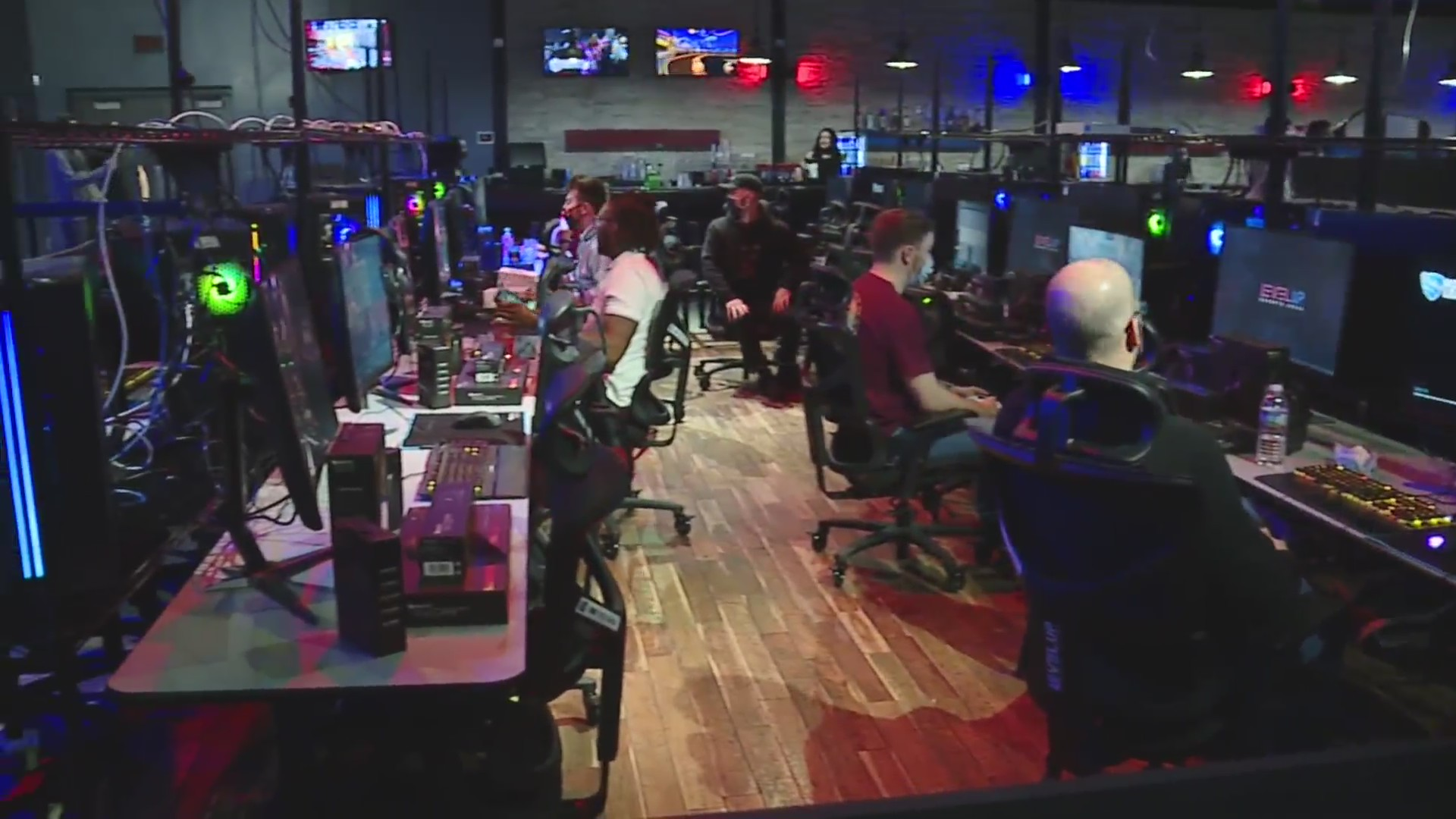 LEVELUP esports arena in Overland Park