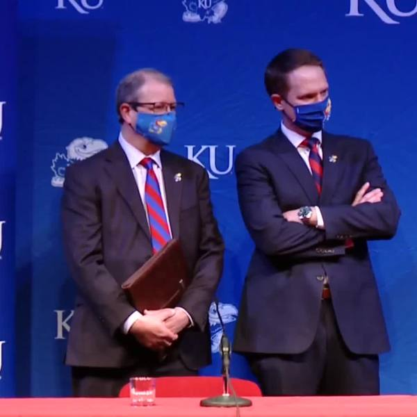 KU introduces Travis Goff as new athletic director