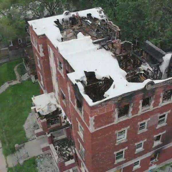 11th Benton apartment fire