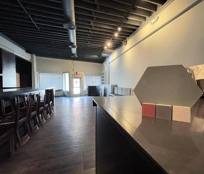 Picture of former Bluestem restaurant space