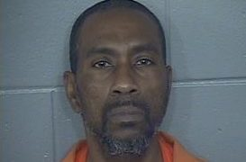 Picture of Larry J. Harris from the Jackson County jail.