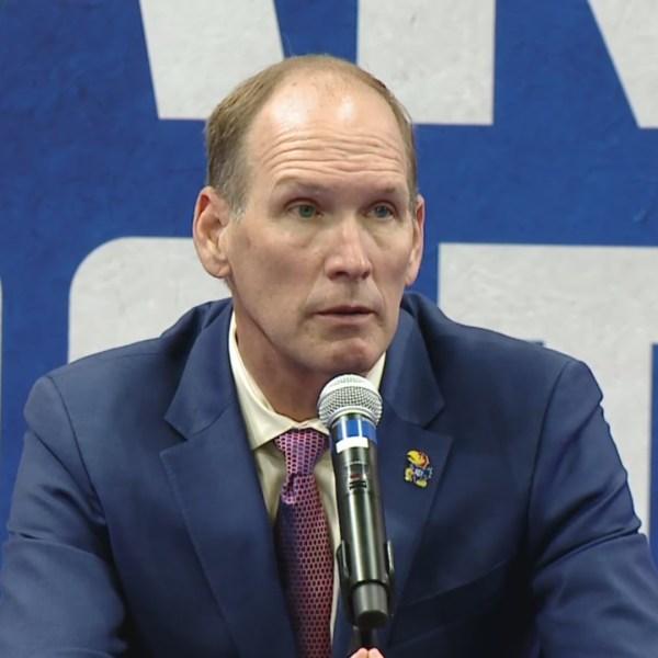 Kansas head football coach Lance Leipold