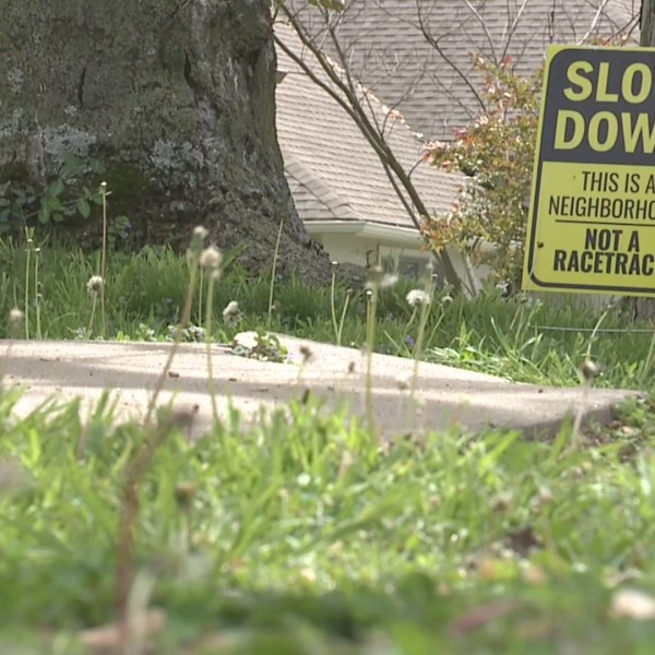 slow down sign kansas city