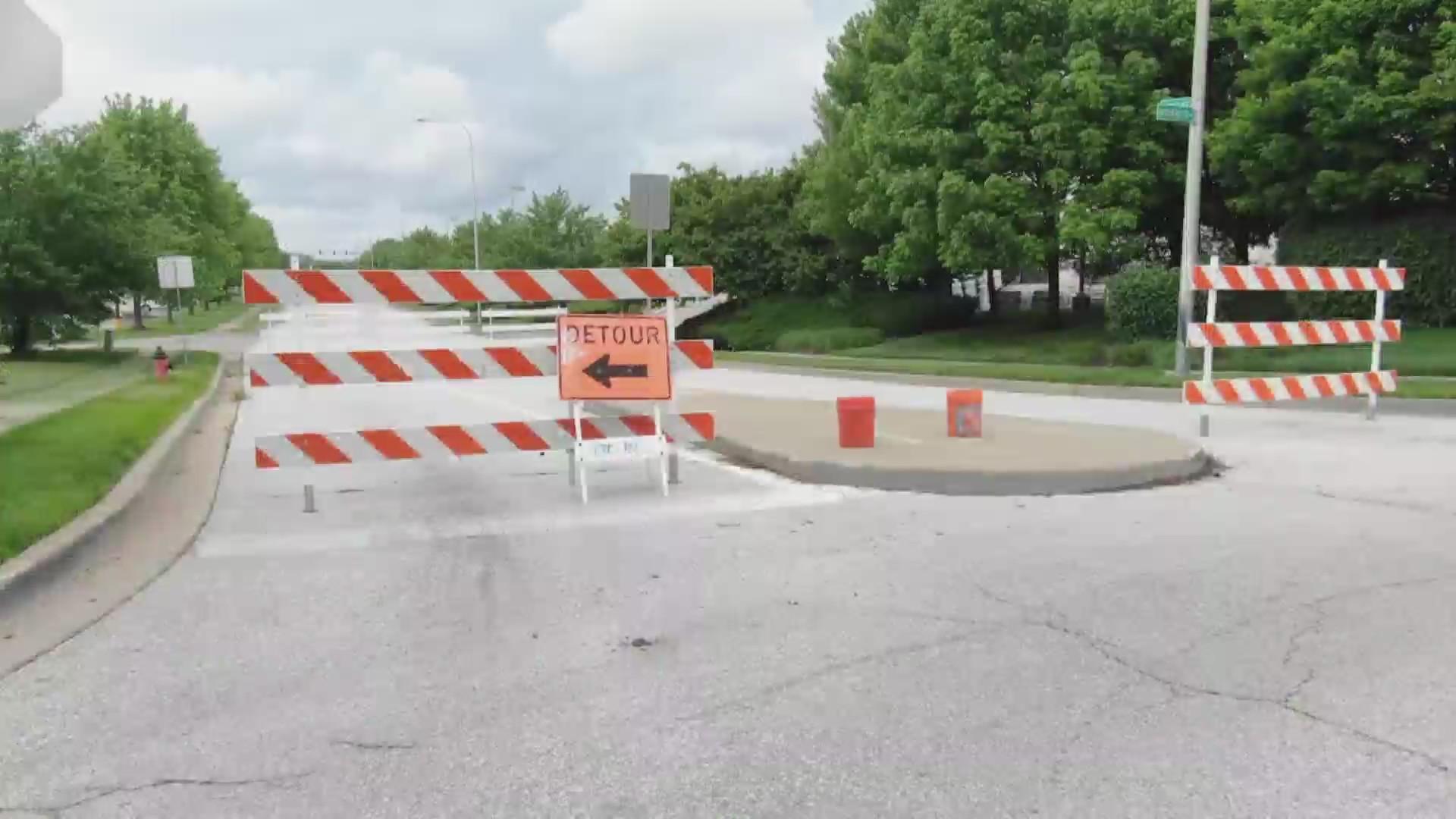 133rd street closure