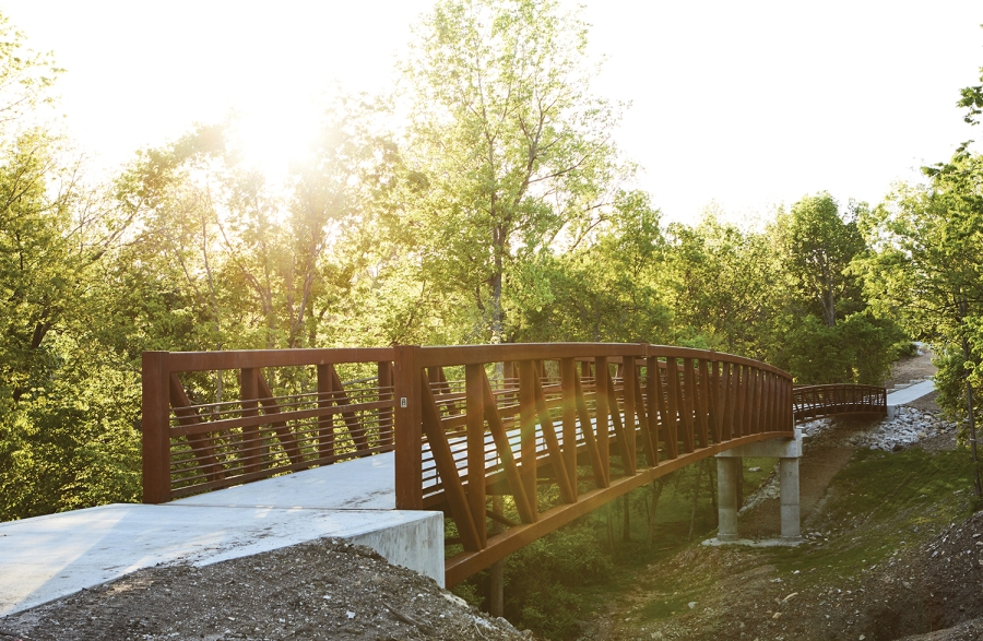 Picture of Rock Island Trail bridge