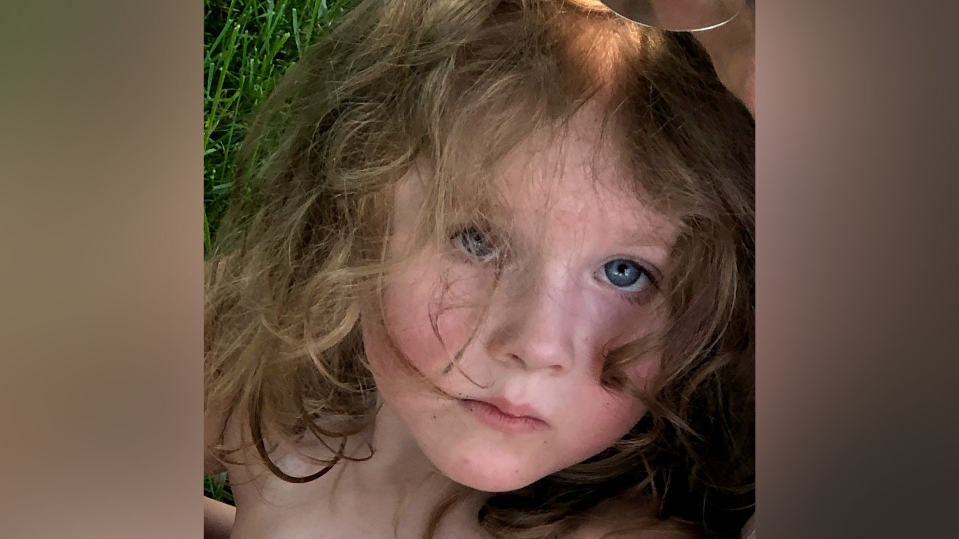 Picture of lost girl in St. Joseph