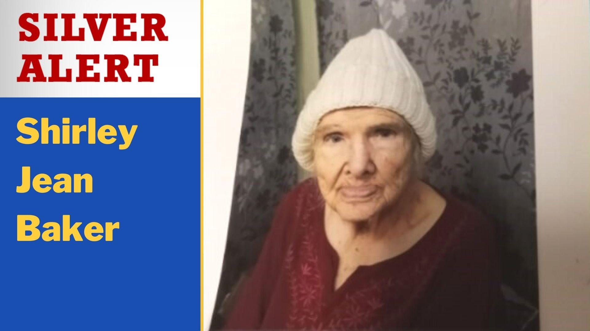 Silver Alert: Shirley Jean Baker