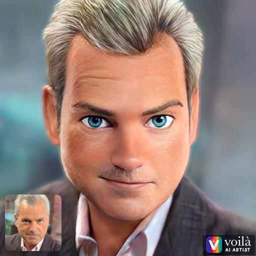 Voila depiction of Mark Alford