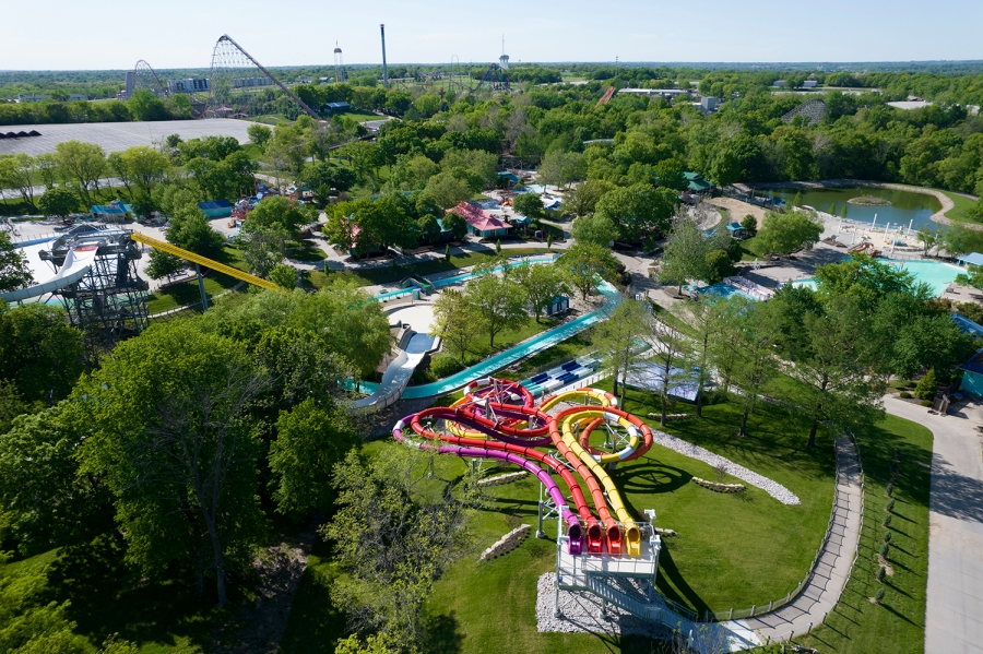 Aerial picture of Riptide Raceway
