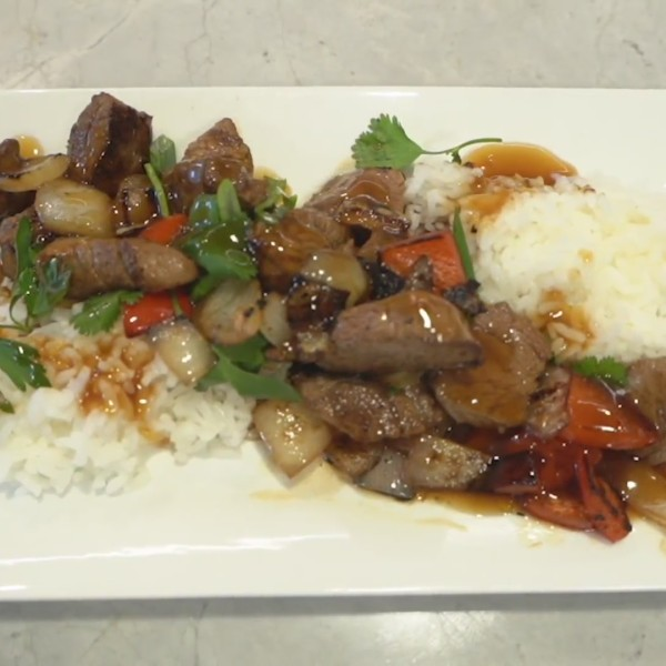 Picture of beef tip stir fry