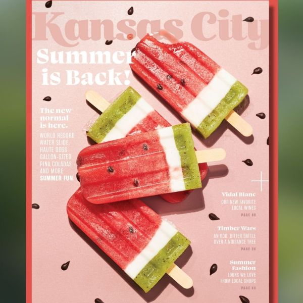 Picture of the June Kansas City Magazine cover