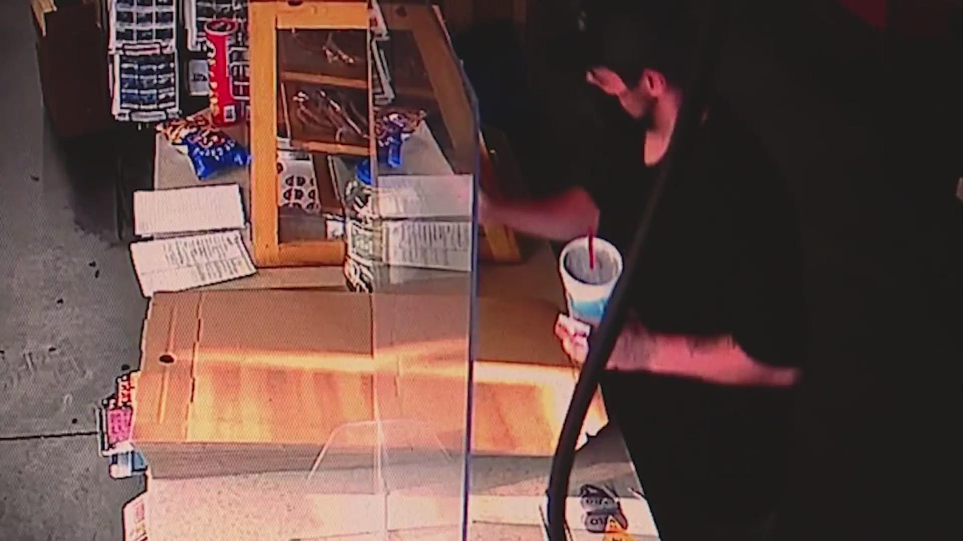 donation jar thief