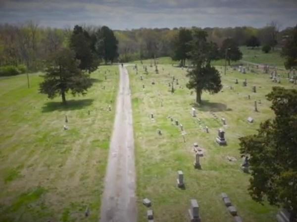 segregated cemeteries