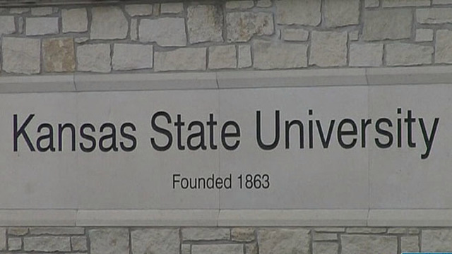 Picture of K-State sign