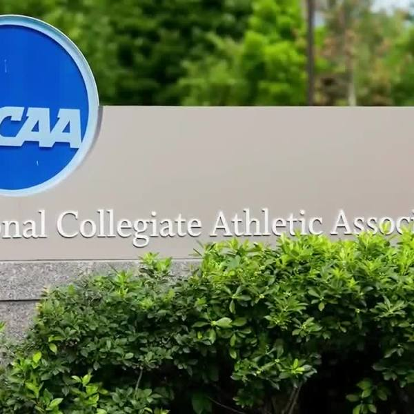 Picture of NCAA sign