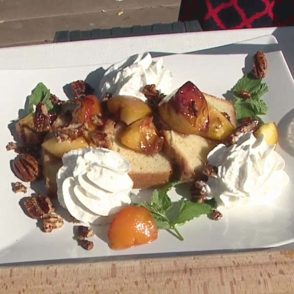 Picture of Grilled Peach Shortcakes
