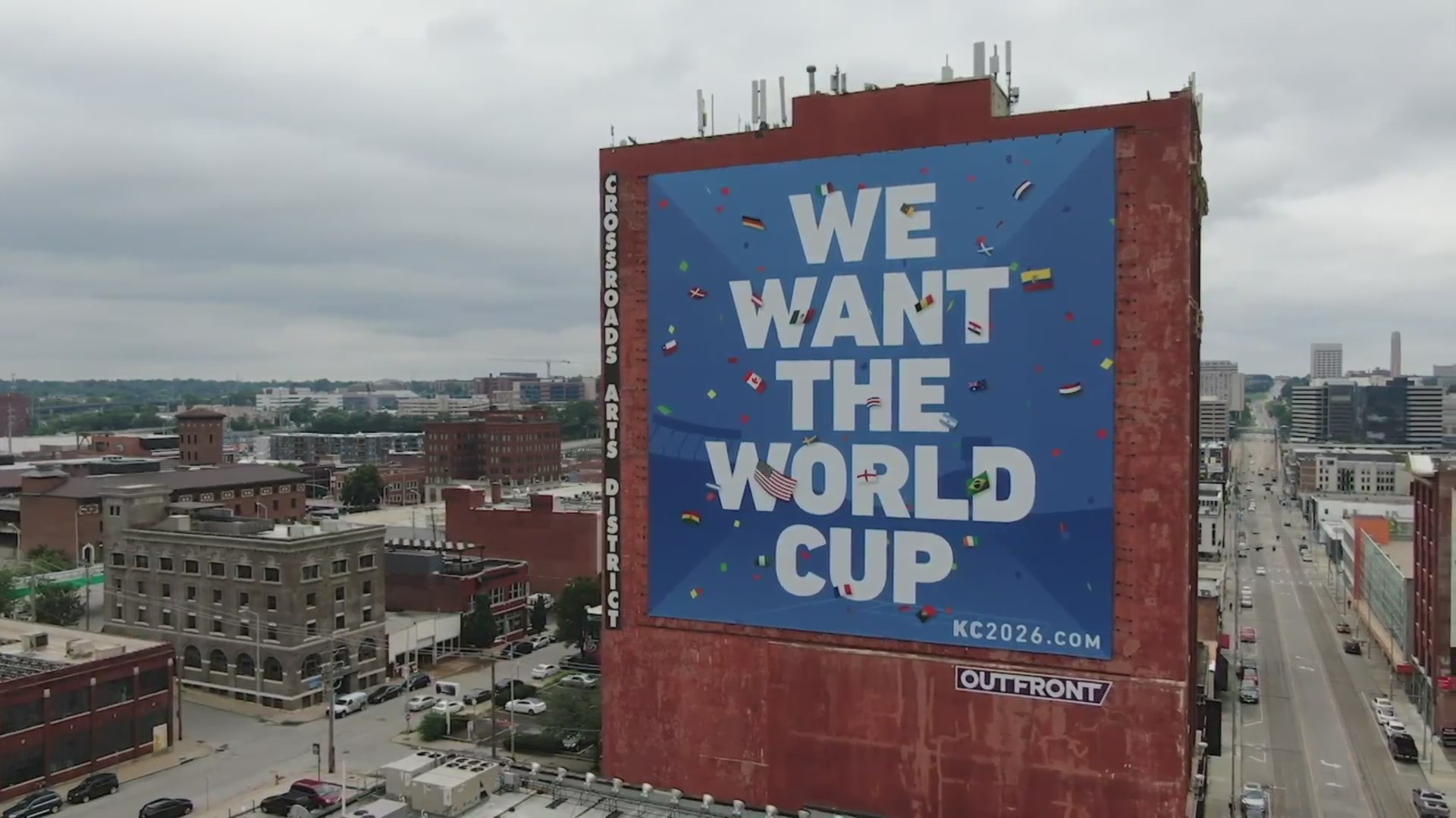 kansas city world cup sign