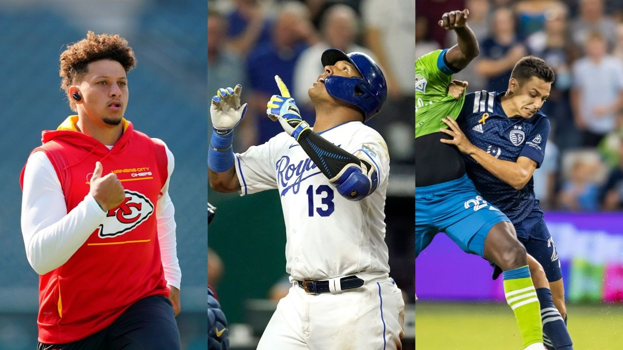 Sunday sports in Kansas City: Mahomes, Salvy and Sporting KC headline a full slate of games
